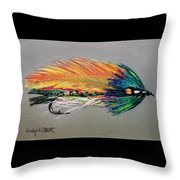 Rock Island Featherwing Streamer Throw Pillow