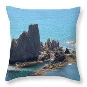 Rock Island Throw Pillow