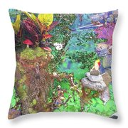 Rock Keeper Throw Pillow