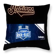 Rock N Blast 10th Anniversary Throw Pillow