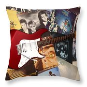 Rock 'n' Roll Forever Throw Pillow