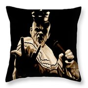 Rock On Throw Pillow