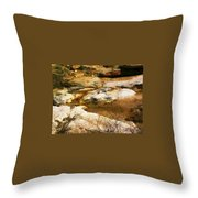 Rock Pattern Throw Pillow