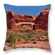 Rock Pinnacles 3 Throw Pillow