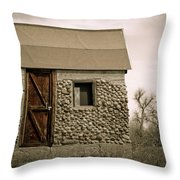 Rock Shed 2 Throw Pillow