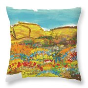 Rock Springs Throw Pillow