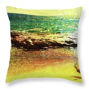 Rock The Rouge Throw Pillow