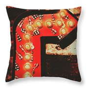 Rock Through This Way Throw Pillow