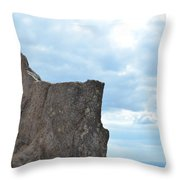 Rock Top Throw Pillow