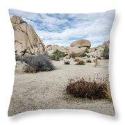 Rock Tower No.2 Throw Pillow