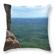 Rock Views Throw Pillow