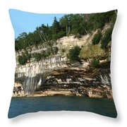 Rock With Colors Throw Pillow