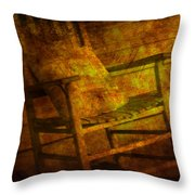 Rock Without The Roll Throw Pillow