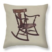 Rocker Throw Pillow