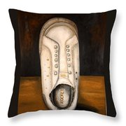 Rocket Dog 2 Throw Pillow by Leah Saulnier The Painting Maniac