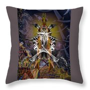 Rocket For The New City Throw Pillow