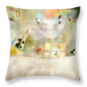 Rocket Throw Pillow