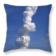 Rocket Launch Throw Pillow