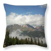 Rockies 1 Throw Pillow