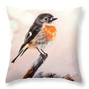 Rockin Robin  Throw Pillow