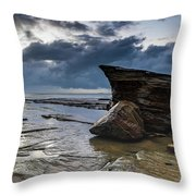 Rockin The Seascape Throw Pillow