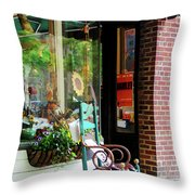 Rocking Chair By Boutique Throw Pillow