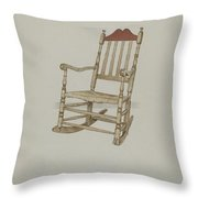 Rocking Chair Throw Pillow