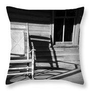 Rocking Chair Work A Throw Pillow