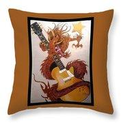 Rocking Dragon Throw Pillow