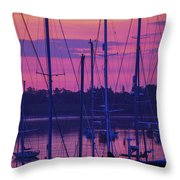 Rockland Sunrise Throw Pillow