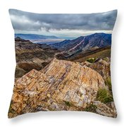 Rockline Throw Pillow