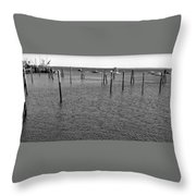 Rockport Piers 21 Throw Pillow