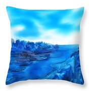 Rocks And Hard Places Throw Pillow