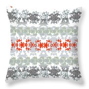 Rocks And Lace Throw Pillow