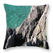 Rocks Of Kerry Throw Pillow
