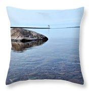 Rocks Of Lake Superior 10 Throw Pillow