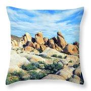 Rocks Upon Rocks Throw Pillow