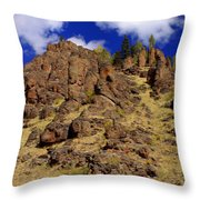 Rocky Butte Throw Pillow