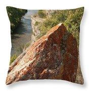 Rocky Edge Throw Pillow