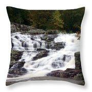 Rocky Falls Throw Pillow