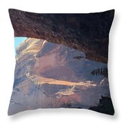 Rocky Growth  Throw Pillow