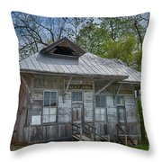 Rocky Hill Station Throw Pillow