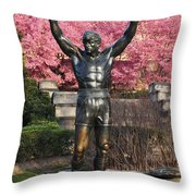 Rocky In Spring Throw Pillow