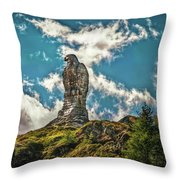 Rocky King Of Skies Throw Pillow