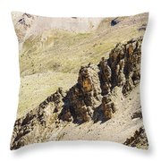 Rocky Landscape - 3 - French Alps Throw Pillow