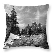 Rocky Mountain Beauty Throw Pillow