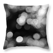 Rocky Mountain Bokeh Throw Pillow