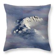 Rocky Mountain High - America The Beautiful Throw Pillow