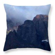 Rocky Mountain Mtns Co Throw Pillow