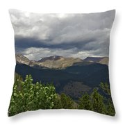 Rocky Mountain National Park 2 Throw Pillow
